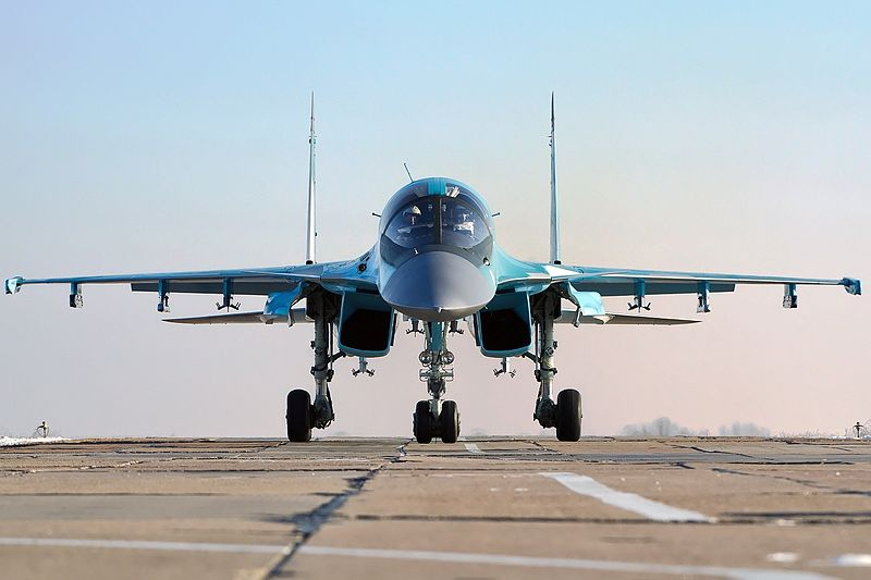 Russia Receives Final Group of Su-34s