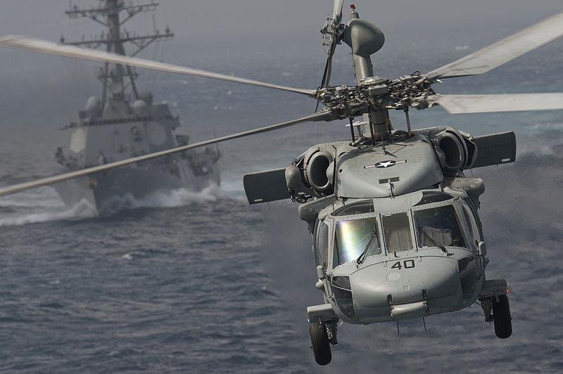 Navy Knighthawk Crashes in Japan