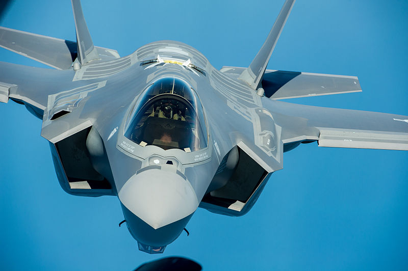 Lockheed Commemorates 100th F-35