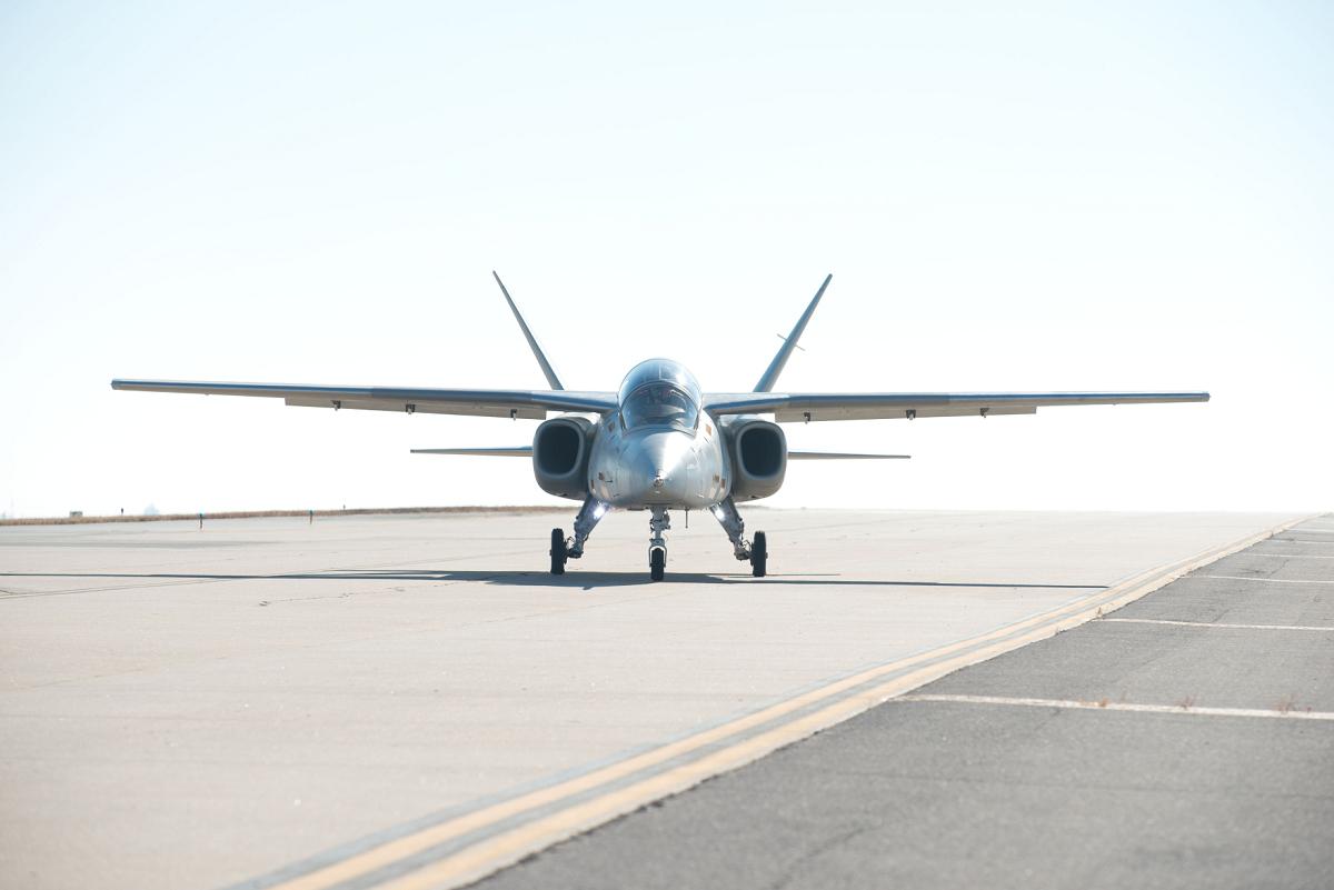 Scorpion Prototype Makes First Flight