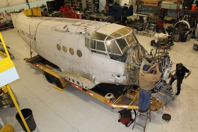 Museum Restoring Soviet Cargo Plane