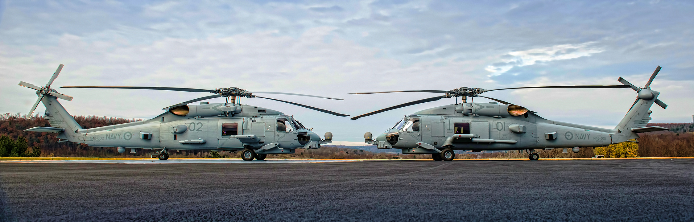 Aussie Navy Gets MH-60R Choppers