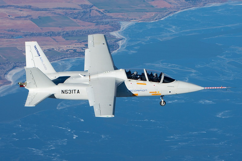Interest Grows in Scorpion Jet