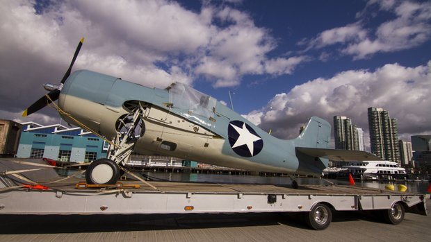 Wildcat Delivered to San Diego Museum