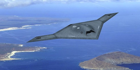 U.S. Air Force Flying New Northrop Drone