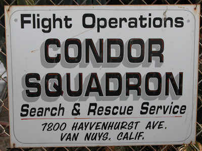 Condor Squadron Keeps 'Em Flying