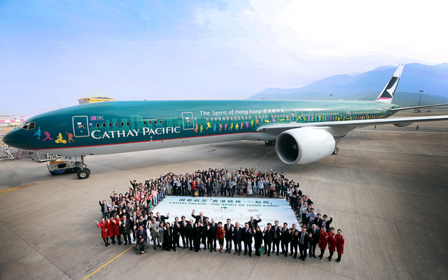 Cathay Pacific Unveils Latest 'Spirit'