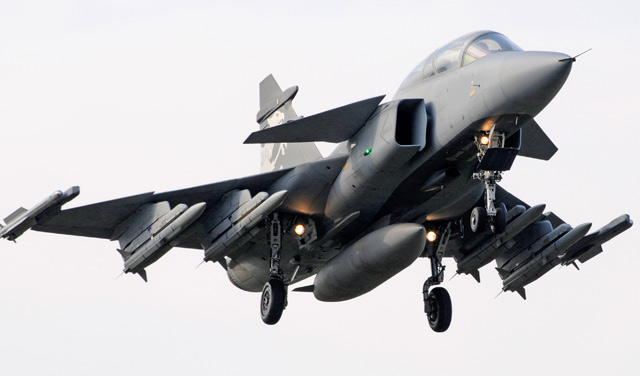 Brazil Picks Gripen Fighter
