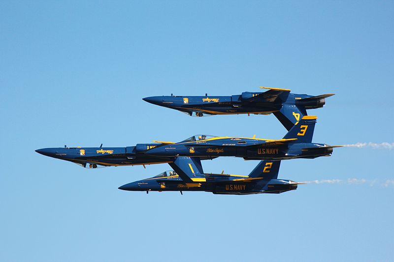 Blue Angels Return to California