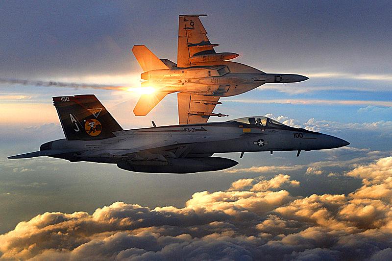 Navy Super Hornet Crashes, Pilot Rescued