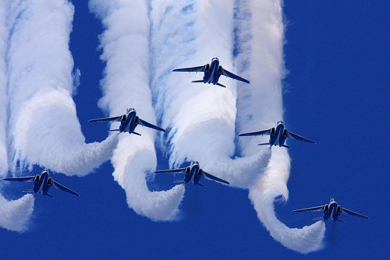 Blue Impulse Jets Collide, Crews Safe