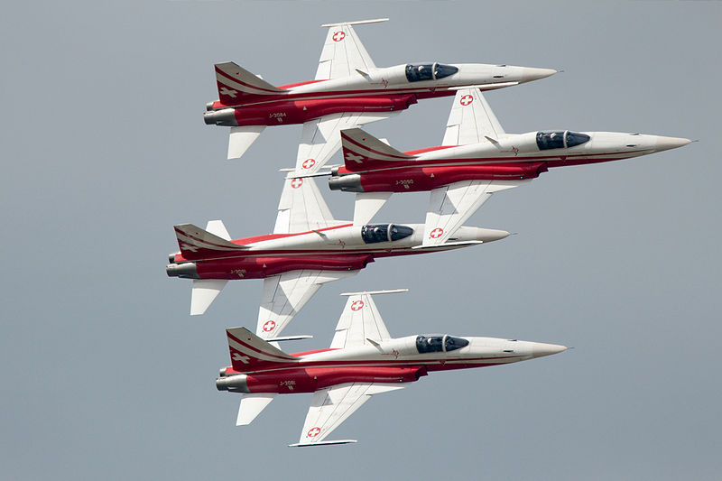 Swiss Demo Team Set for Air Tattoo
