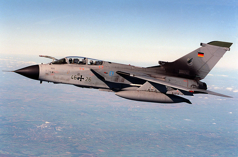 German Tornado Crashes, Crew Safe