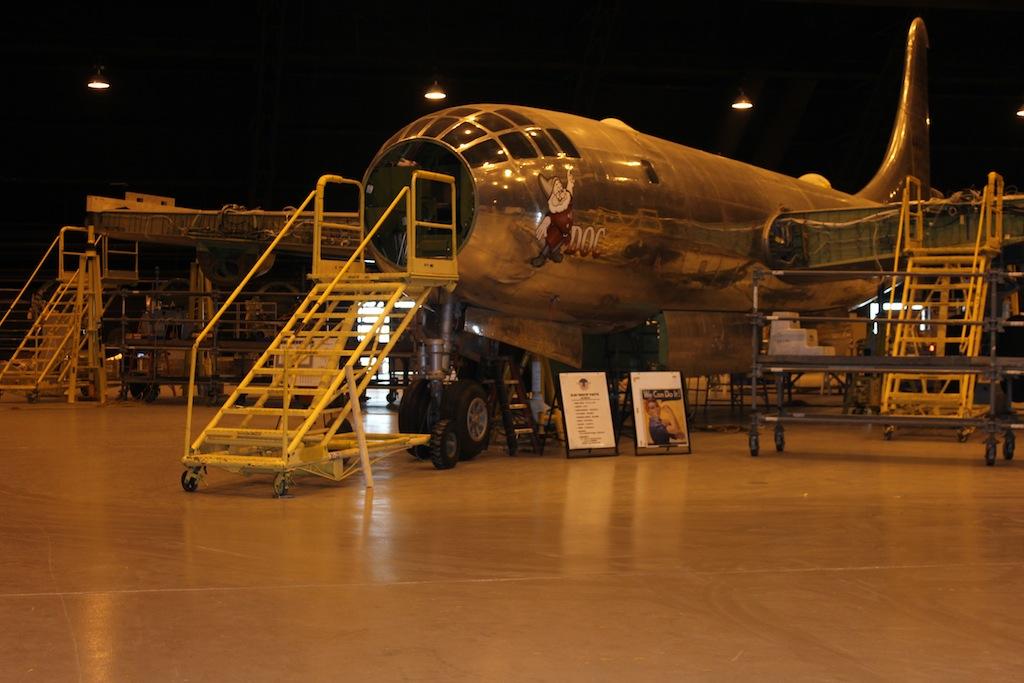 B-29 'Doc' Nears First Flight