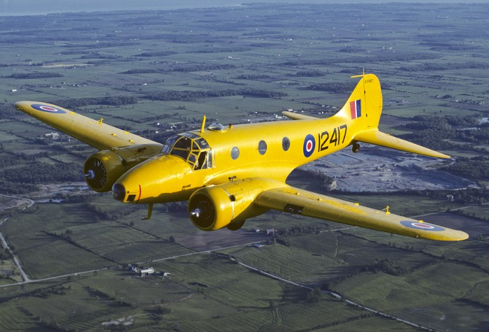 Avro Anson Found After 1942 Disappearance