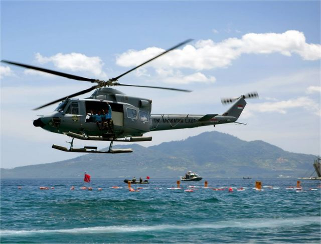 Indonesian Helicopter, Crew Found Safe