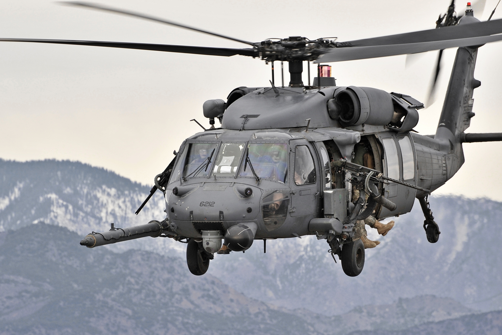 USAF Pave Hawk Crew Killed in Crash