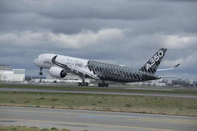 Airbus A350 Test Birds Make First Flight