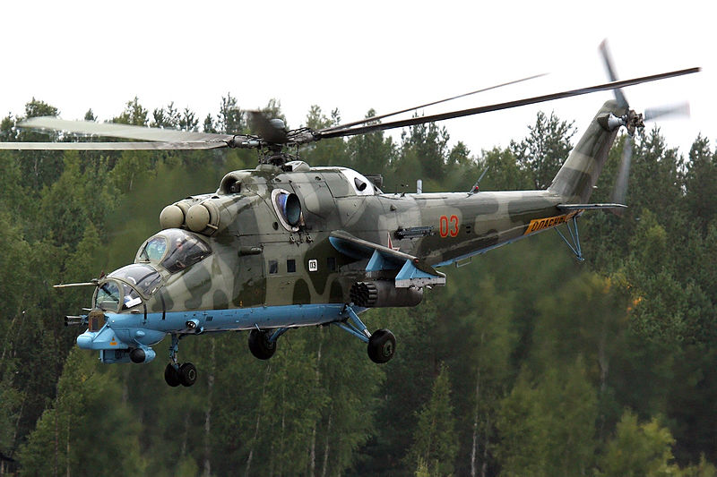 Russia Adds More Helicopters to Drill