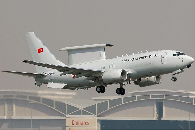 Turkey Accepts First Boeing AEW&C 737