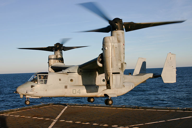 Photo Essay: MV-22 Flight