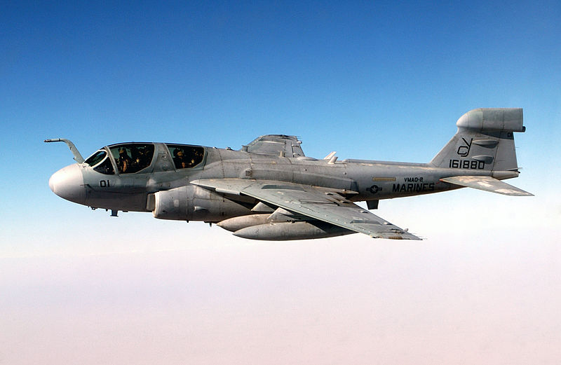 Marine Corps Museum Gets Prowler