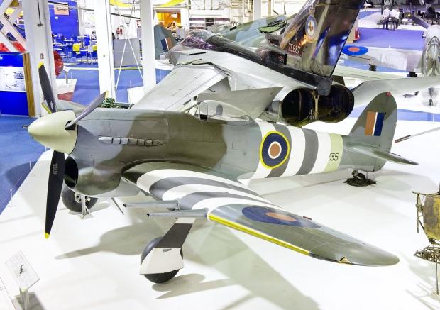 Original Hawker Typhoon to Visit Canada