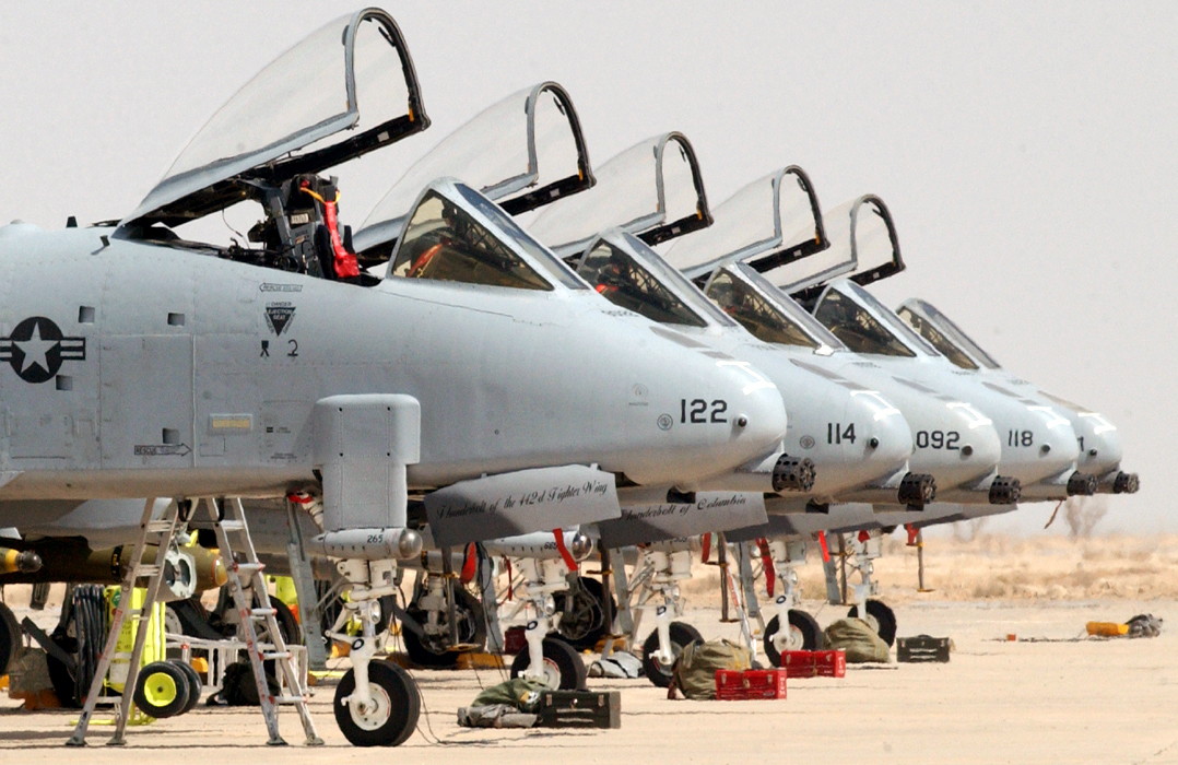 A-10s, U-2s May be Grounded Under Plan