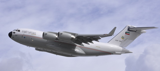 Kuwait Receives Its First C-17