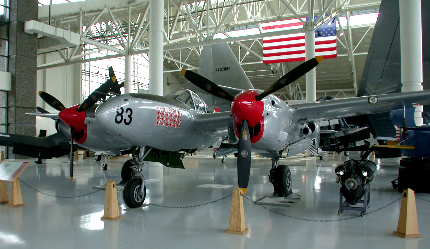 Evergreen Museum's P-38L Up for Sale