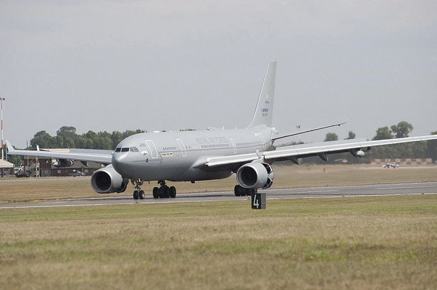 RAF Airliner Fleet Grounded