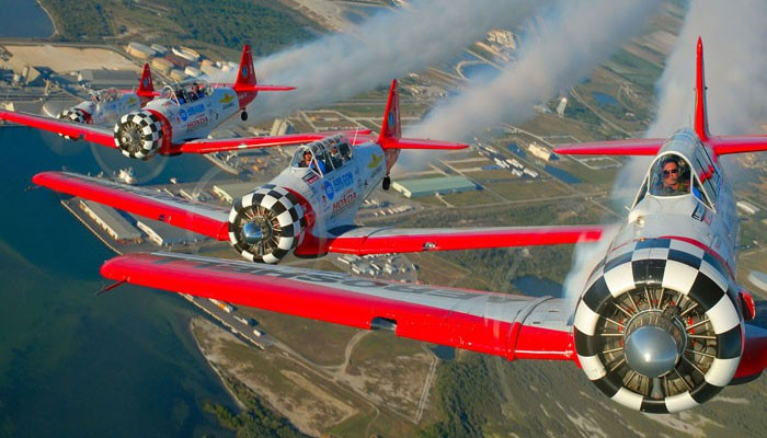 AeroShell Team Headlines Air Fiesta
