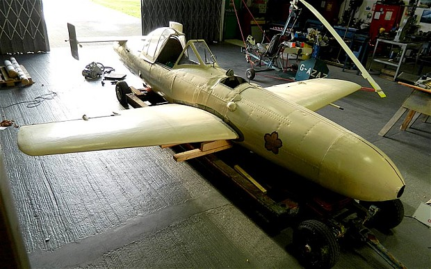 Kamikaze Aircraft to Be Displayed