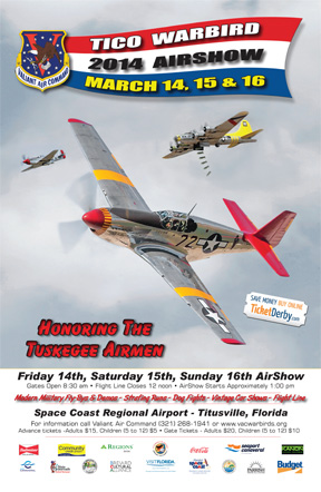 TICO Airshow to Honor Tuskegee Airmen