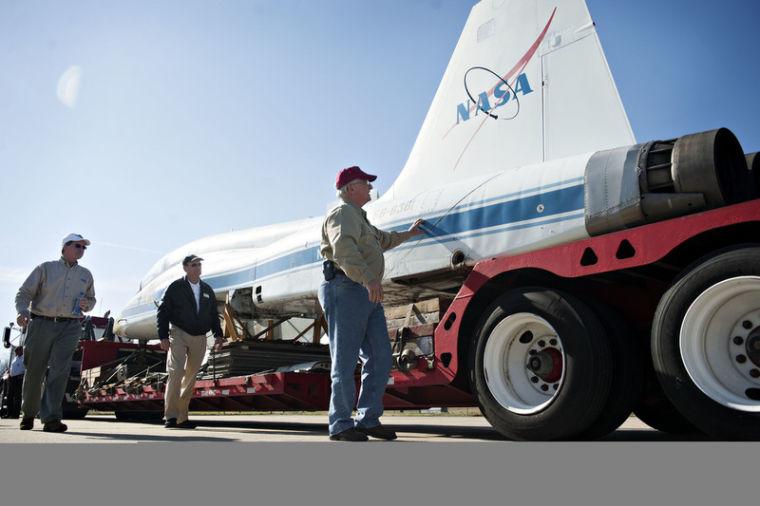 Kentucky Park Gets NASA T-38