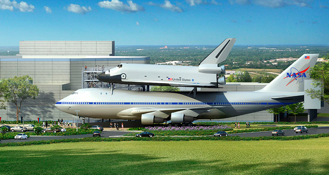Shuttle Aircraft to Make Final Voyage