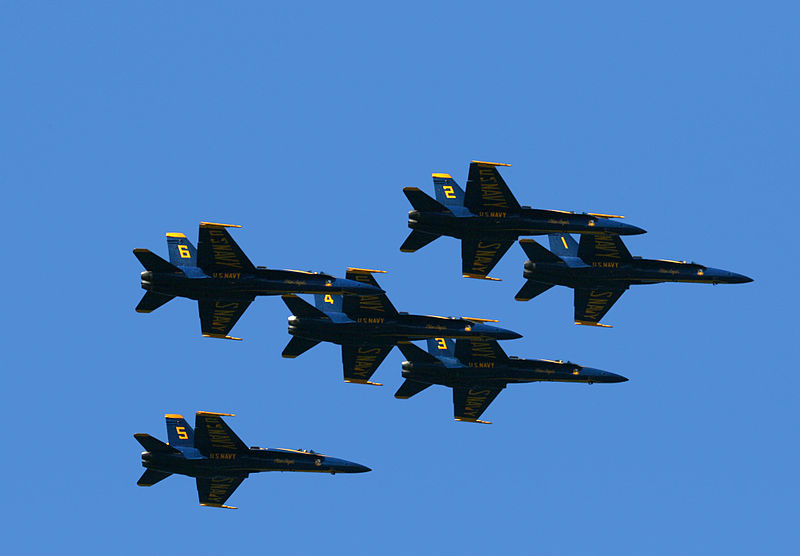 Blue Angels Headline California Air Show