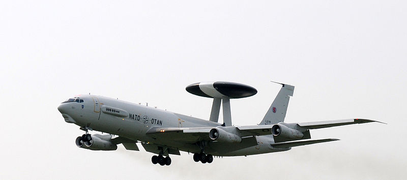 NATO Flying Eastern Europe AWACS Missions