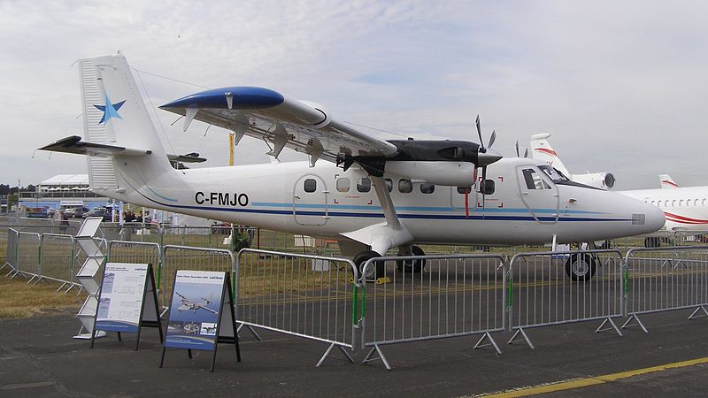 50th Twin Otter 400 Completed