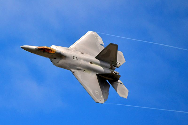 Oregon Air Show to Feature F-22