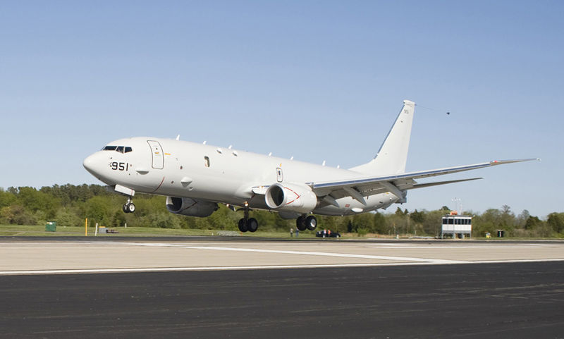 Malay Airliner Search: Aboard a P-8 Poseidon
