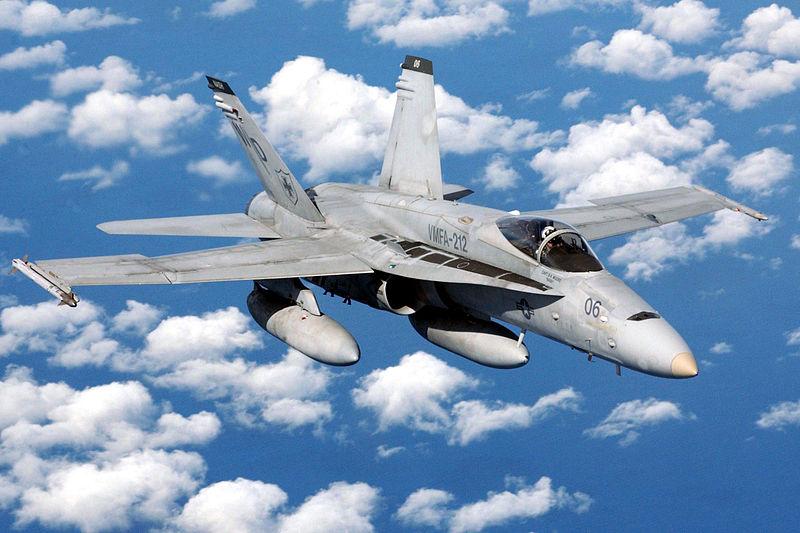 Navy F/A-18C Crashes, Pilot Dies