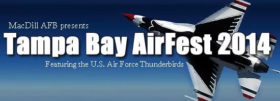 Thunderbirds Headline Tampa Bay AirFest