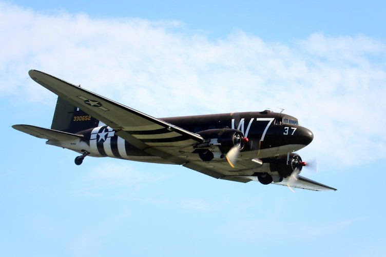 C-47 Prepares for Return Trip to Normandy