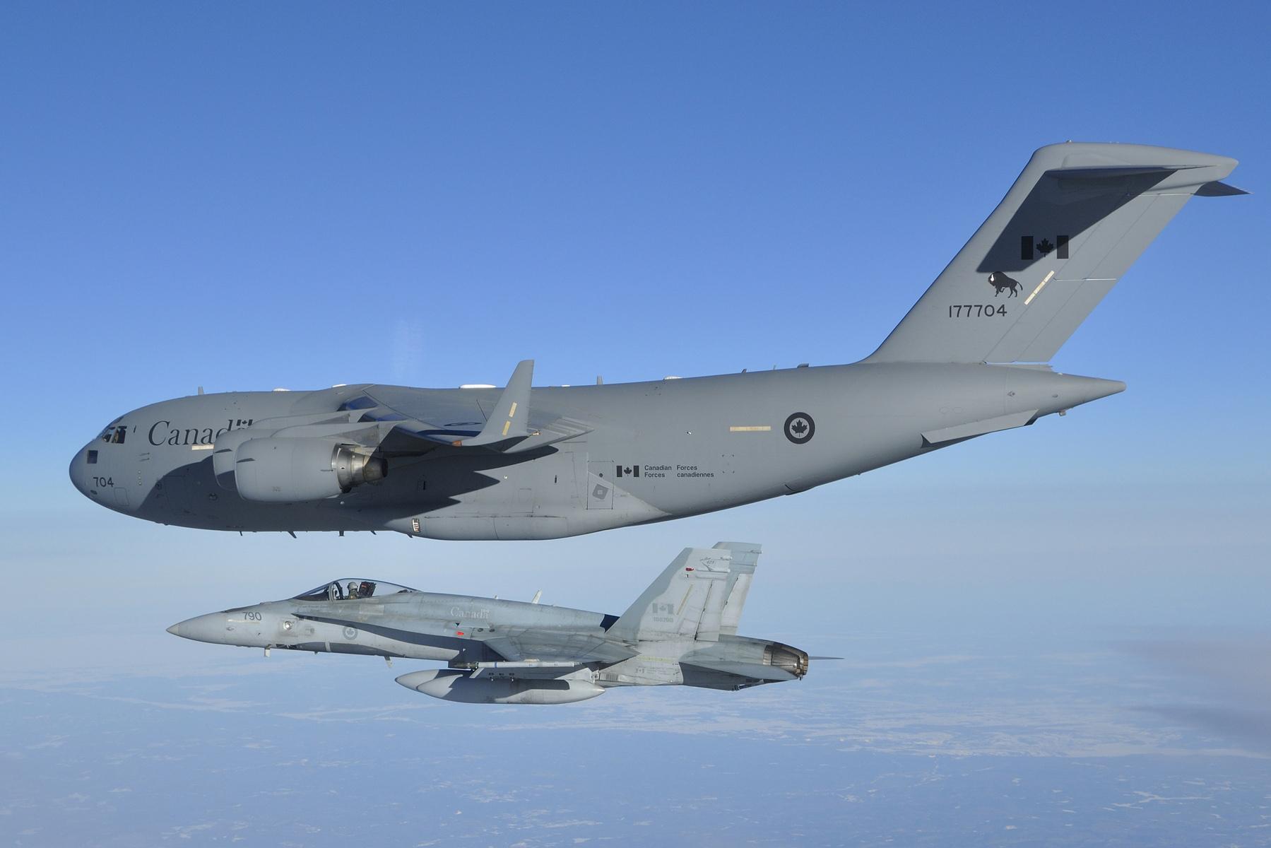 RCAF Brings Last Canadian Troops Home