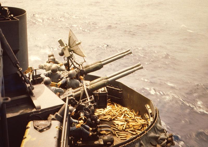 The 40mm Borfors: Fast-Firing WW II Weapon
