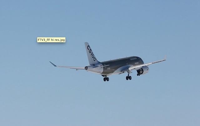 Bombardier Adds Third CSeries Test Plane