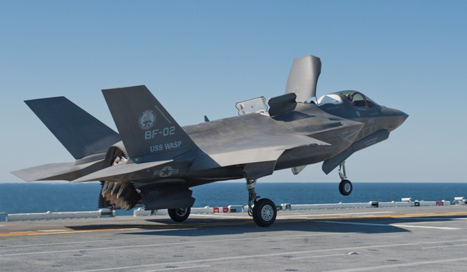 Pilots React to Flying the F-35B