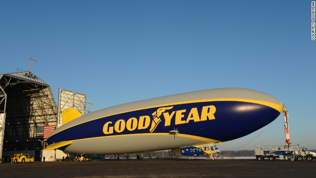 Goodyear Tests New Zeppelin