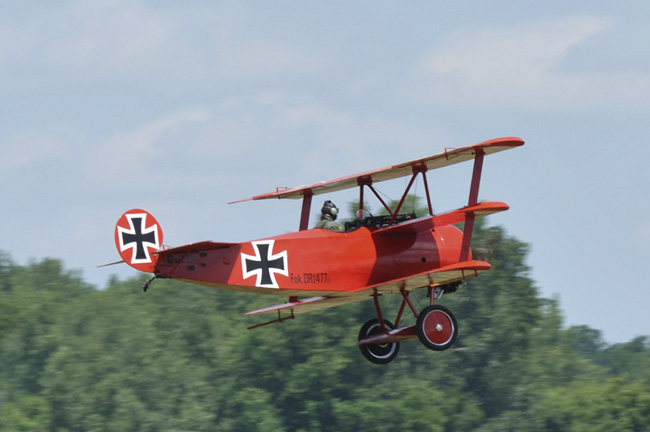 WWI Replicas to Visit Oshkosh Fly-In